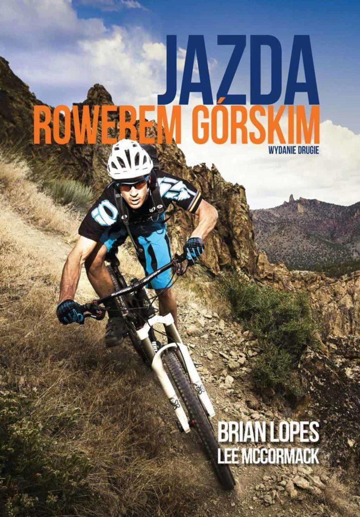 okładka książki jazda rowerem górskim