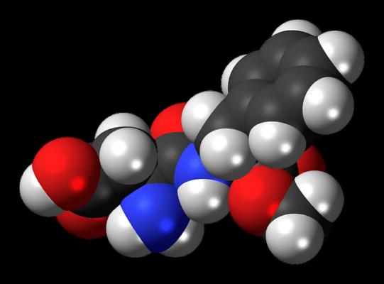Aspartam struktura chemiczna
