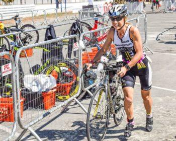 Strefy zmian w triathlonie - zmiana T1