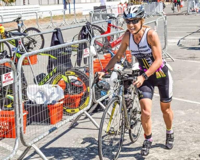 Strefy zmian w triathlonie - T2