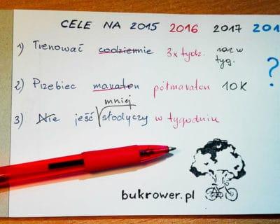 realizacja celów - cele noworoczne