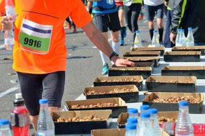 Co jeść przedmaratonem – tydzień przedstartem iwdniu wyścigu