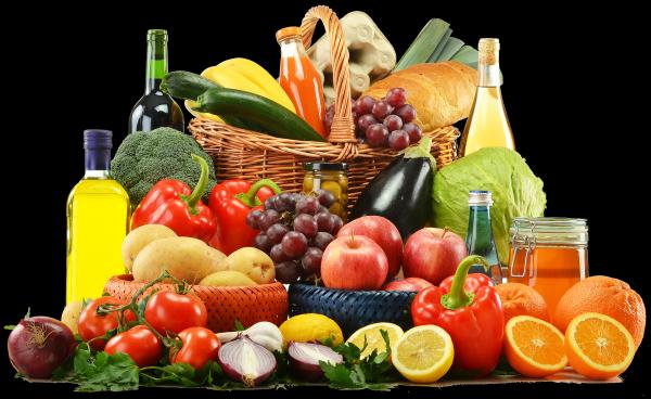 czysta dieta, produkty spożywcze