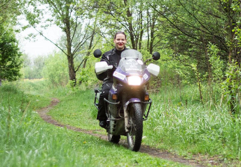 jak zostac motocyklistka buk rower
