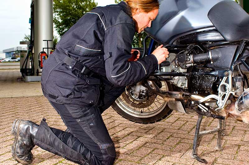 Przygotowanie motocykla dosezonu