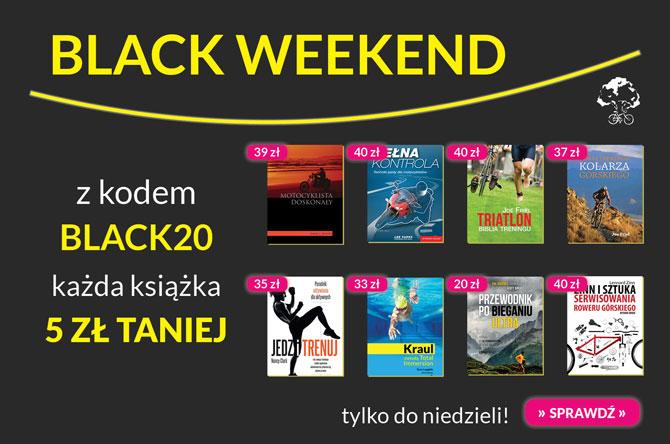 Black weekend wBuk Rower